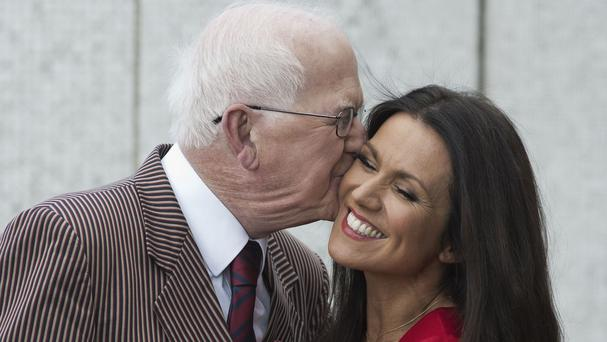 Susanna Reid and her father Barry