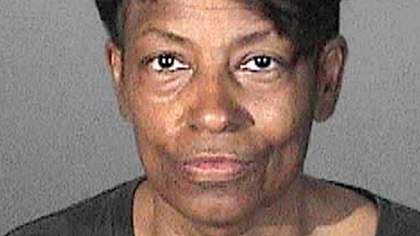Pastor Tonette Hayes and two others are accused of operating a rogue police force that claims to have been in existence for more than 3,000 years (Los Angeles County Sheriffs Department/AP)