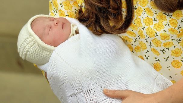 Princess Charlotte was born last weekend at St Mary's Hospital in Paddington