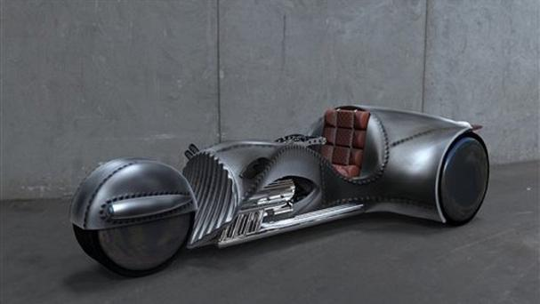 William Shatner has partnered with American Wrench to create the Rivet motorcycle (American Wrench/Rivet Motors/AP)
