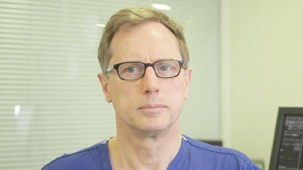 Professor Steven Gill has turned to crowd-funding to pay for the clinical trials