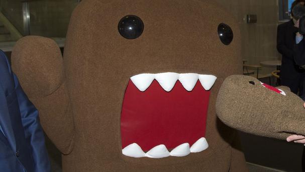 Domo paid a visit to Buckingham Palace