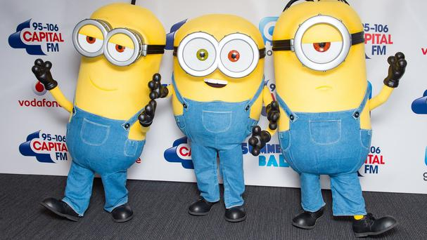 A stuffed Minion toy helped save the life of a US girl