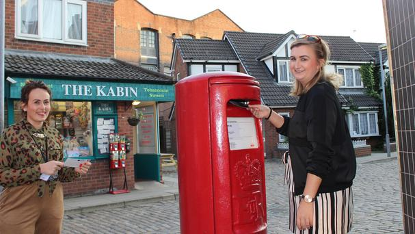 Coronation Street fans can now send letters and postcards from the famous cobbles (Coronation Street The Tour/PA)