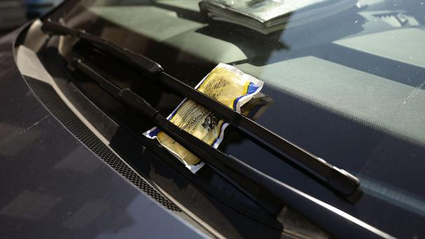 Up to 320 tickets have been slapped on the windscreens of drivers who parked in a loading bay near the city's museum