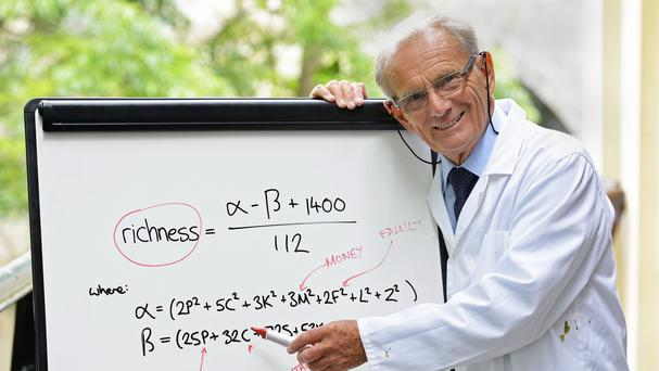 Dr David Lewis was commissioned by Anchor Cheddar to find the formula for true richness (Anchor Cheddar/PA)