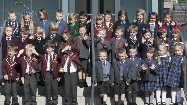 Seventeen sets of twins who are due to begin their education at Inverclyde primary schools