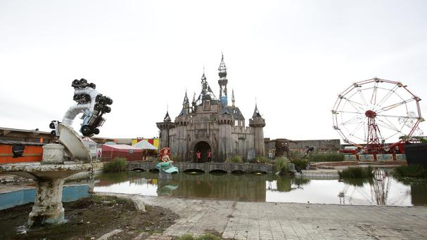Dismaland opened at Weston-super-Mare in Somerset last month and was visited by 150,000 people.