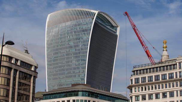 The Walkie Talkie - officially known as 20 Fenchurch Street - won the annual Carbuncle Cup
