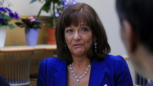 Ros Altmann has responsibility for pensions