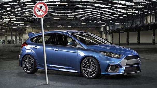 The Ford Focus RS is getting anti-spider technology