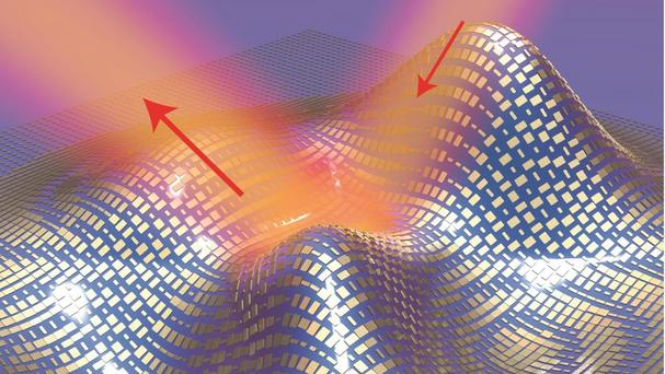 A 3D illustration of the ultra-thin invisibility