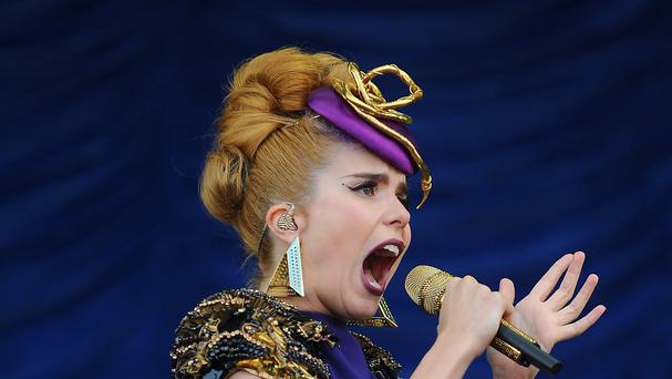 Paloma Faith's cover of World in Union has been criticised online