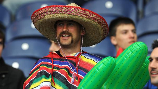 Sombreros were banned at the University of East Anglia's freshers' fair