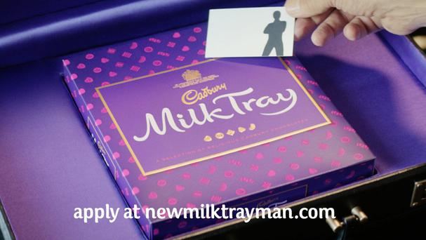 The new Cadbury Milk Tray advert as the company launches a search for his successor (Cadbury/PA)