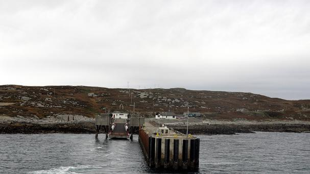 The artefacts were found in a former loch on the Isle of Coll