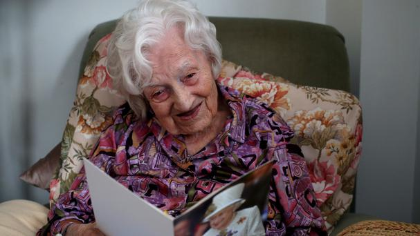 Gladys Hooper is Britain's oldest person