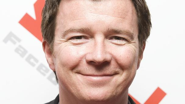 Rick Astley sent a good luck message