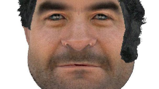 Police issued an efit of a suspect who has been compared to Fred Flintstone (Kent Police/PA)