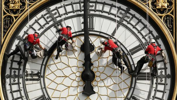 Westminster's Great Clock is said to be so dilapidated that it could grind to a halt without major repair work