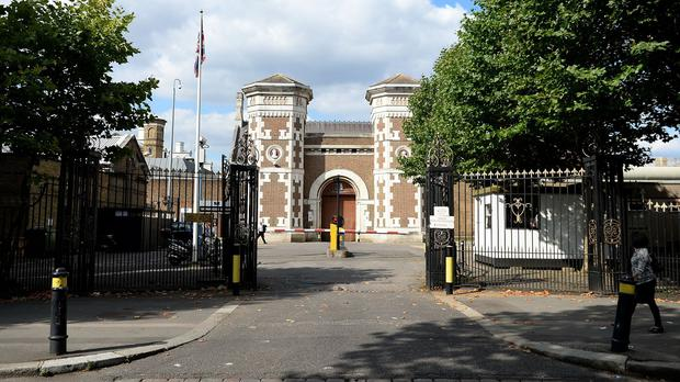 A fishing line was used to smuggle contraband to prisoners at HMP Wormwood Scrubs