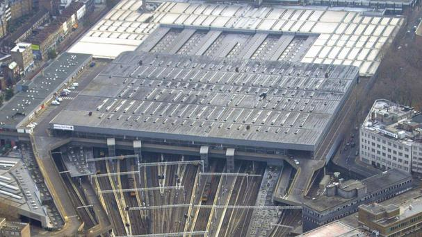 The train hit by a bird had left London's Euston station