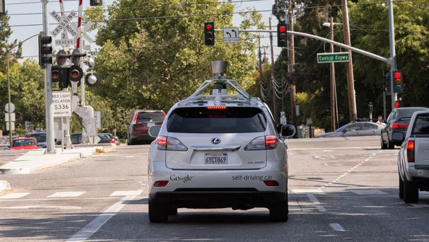 One of Google's driverless cars has been pulled over for driving too slowly (Google/PA)