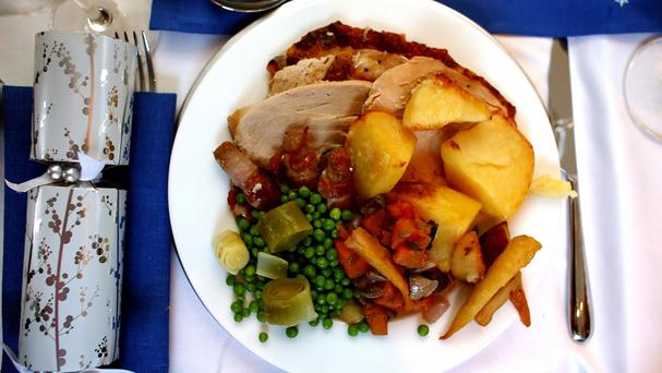Will the Christmas dinner come with a health warning?