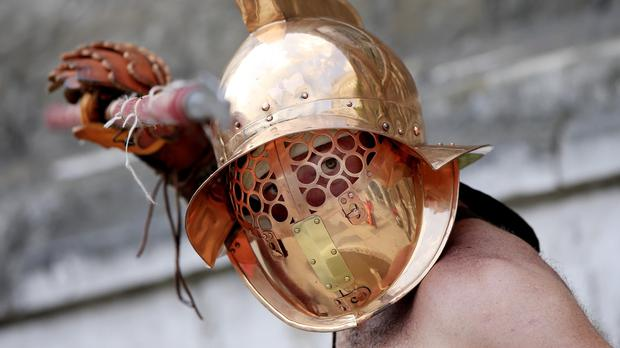 Remains found in London of what is thought to be a Roman gladiator reveal he probably came from Eastern Europe or the Middle East