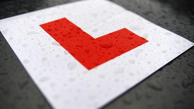 A learner driver took a wrong turn on to the M27
