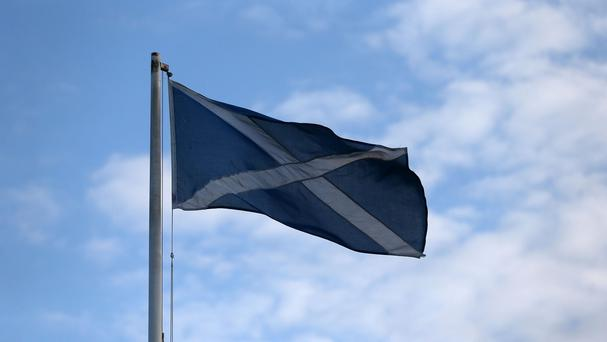 Facebook users were invited to celebrate St Andrew's Day - but not with the Scottish Saltire