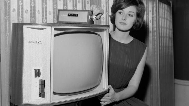 Black and white televisions are not yet consigned to the history books