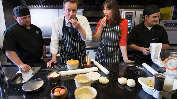 The hacker called David Cameron 'a pie'