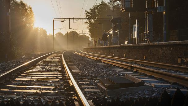 Bright sunlight can be problematic for train drivers