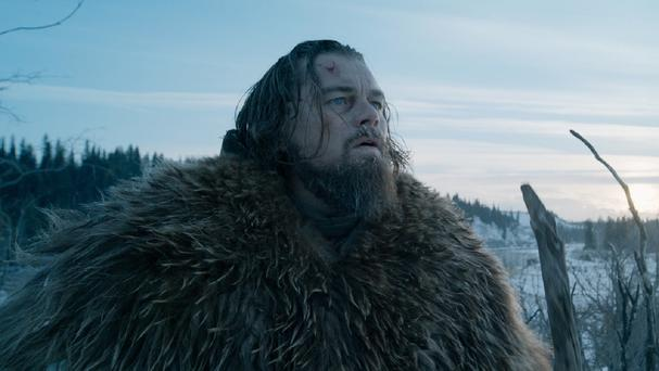 20th Century Fox tested the reactions of people watching The Revenant, starring Leonardo DiCaprio, pictured, using a high-tech wristband (Twentieth Century Fox/AP)
