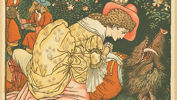 Illustration of Beauty And The Beast, as fairy stories can be traced back thousands of years to prehistoric times, say academics (Durham University/PA)
