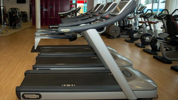 A treadmill with a desk has been installed at Warwick University