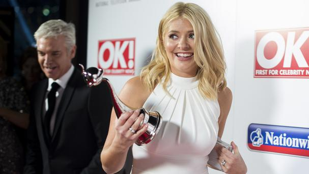 Holly Willoughby and Phillip Schofield won the National Television Award for best magazine show