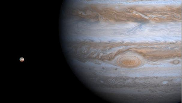 The Babylonians used geometry to track the path of Jupiter (Nasa/PA)