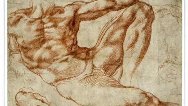 Michelangelo's addiction to work may have helped him cope with arthritis, it has been suggested