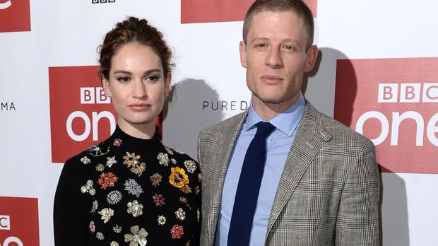 Lily James and James Norton star in the BBC One adaptation of Leo Tolstoy's novel War And Peace