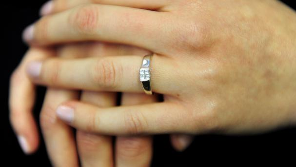Holiday-makers are getting a 'secret word' to bring engagement rings through airport security without tipping off their partner