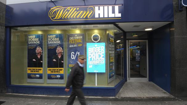 The woman won the jackpot on a casino game at William Hill