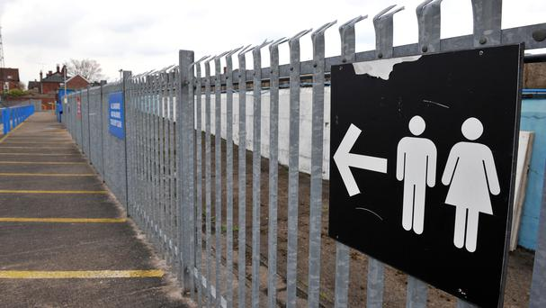Around one in five small businesses are not meeting legal requirements, leaving employees having to wait to use the toilet