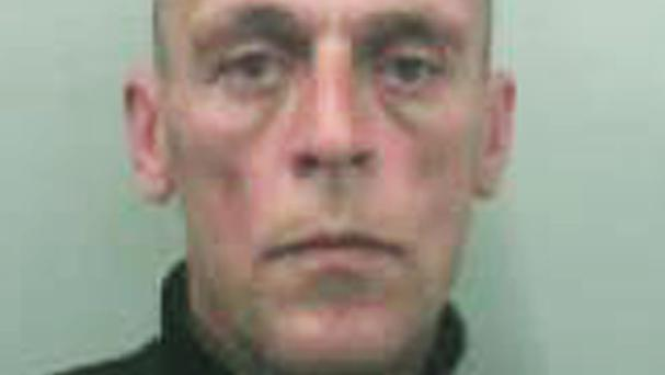Anthony Rudkin has been jailed for two years and five months at Bristol Crown Court after pleading guilty to a burglary on his neighbour's property (PA/Avon and Somerset Constabulary)