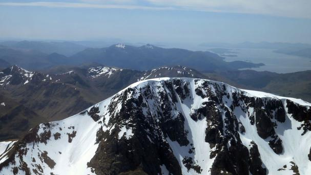 Surveyors have discovered that Britain's highest mountain has 'grown' by a metre in the last 65 years