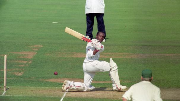 Right-handed international cricketers who have used a left-handed stance when batting include Brian Lara