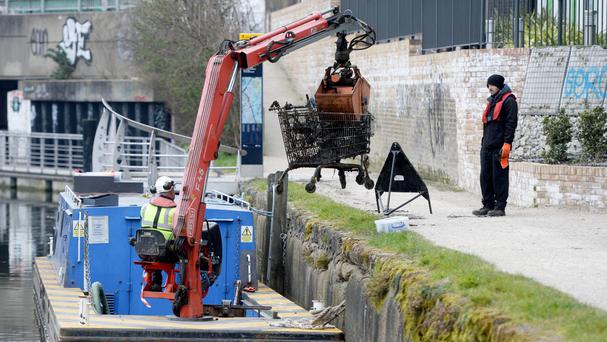 The Canal and River Trust said the cost of clearing dumped rubbish could be spent on improving habitat for wildlife and ensuring waterways are clear for boaters