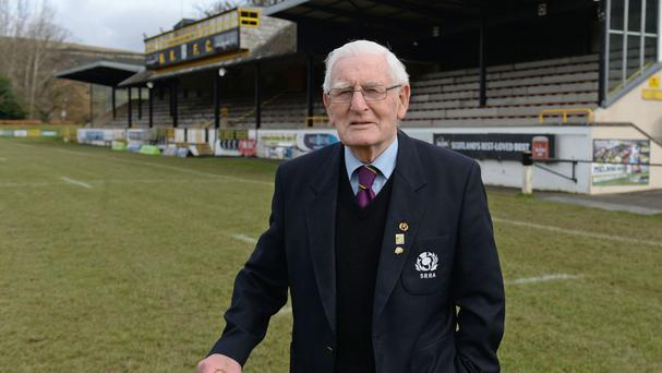 Rugby sevens super fan Jack Dun, 90, said he is looking forward to the event as much as ever since first attending the Melrose Sevens when he was eight years old