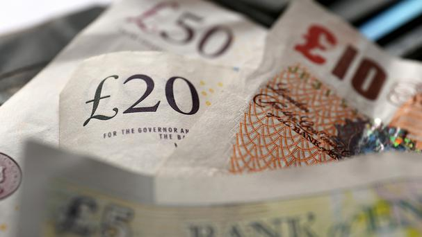 Business owners and managers are being warned to brace for further volatility in the pound, starting with a raft of economic data due this week. Photo: PA